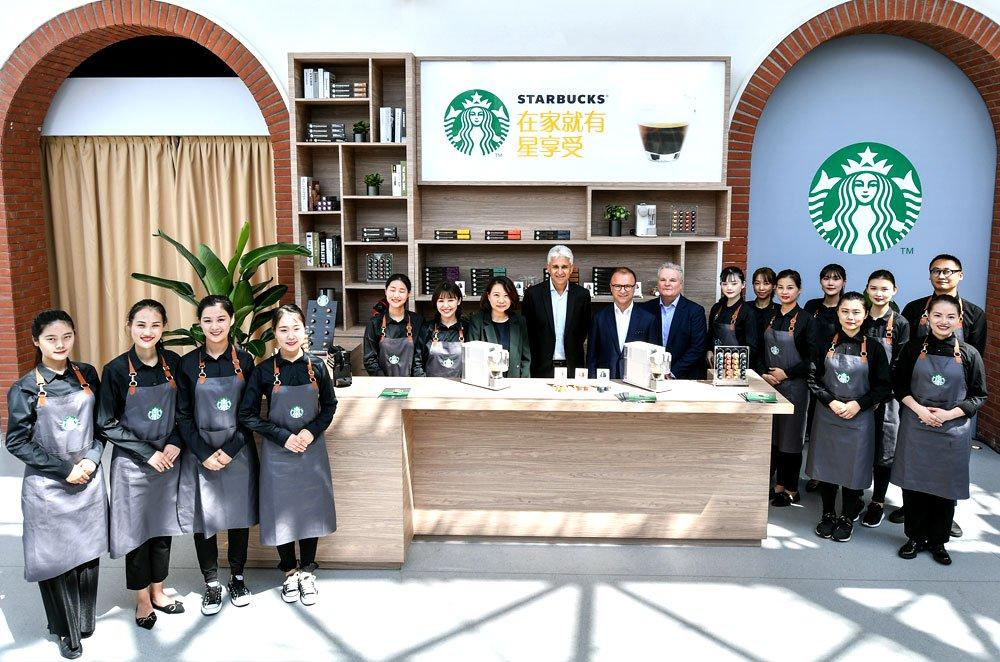 雀巢推出星巴克家享咖啡系列新品及店外渠道星巴克咖啡服��